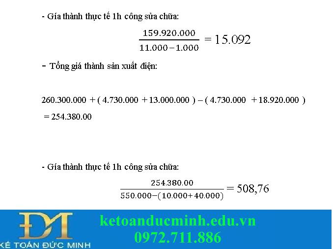 Bài tập kế toán quản trị 3