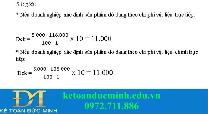Bài tập kế toán quản trị 5