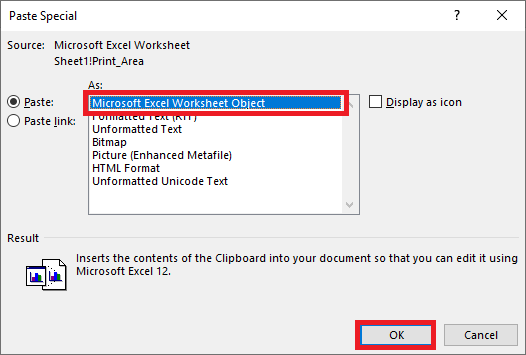 Cách sao chép bảng từ Excel sang Word vẫn giữ nguyên định dạng 2