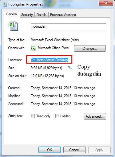 Cách link dữ liệu giữa các file excel với nhau 3