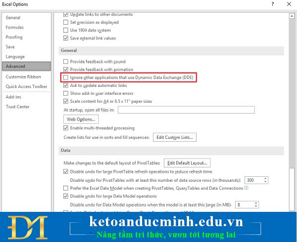 6 cách khắc phục lỗi Excel không hiển thị nội dung bảng tính