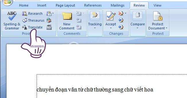 Dịch một đoạn văn bản sang tiếng khác bằng Bing Translator 1