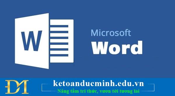 Những phím tắt quyền lực trong Word mà bạn nên biết 1