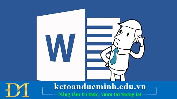 Những phím tắt quyền lực trong Word mà bạn nên biết