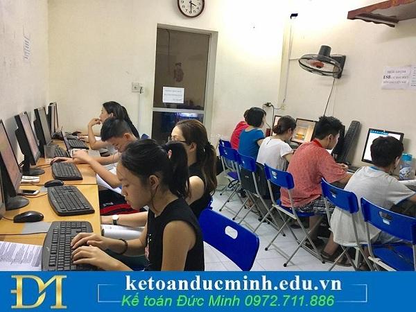 Lớp học kế toán tại Kế toán ĐỨC MINH
