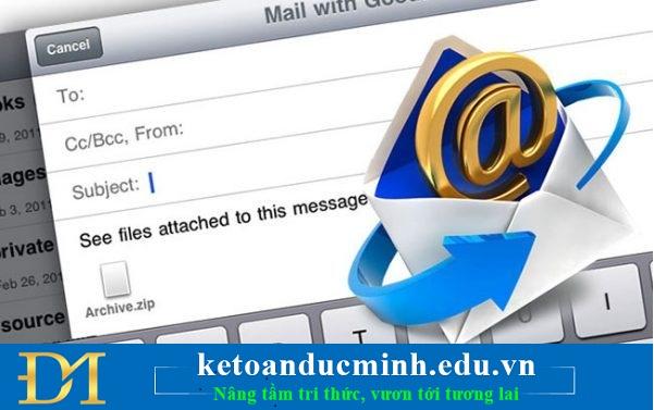 Phân biệt các thành phần trong một email