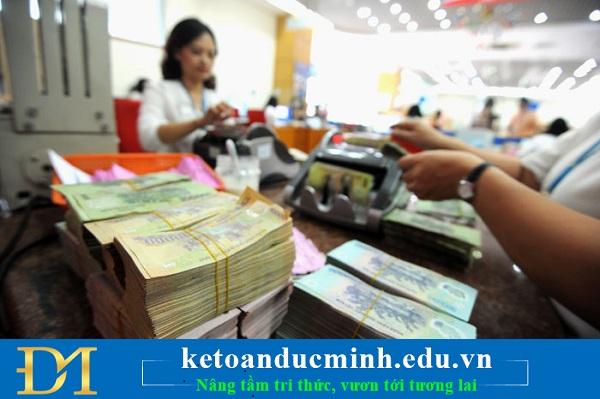 Kế toán tiền mặt bằng đồng Việt Nam