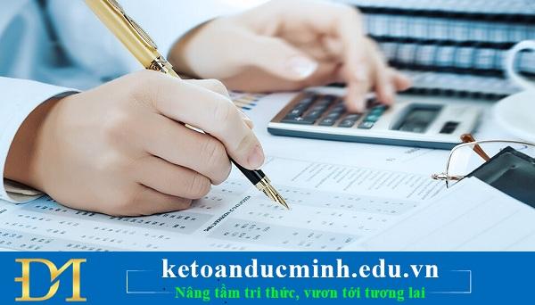 Xử lý lỗ trên sổ sách kế toán và lỗ theo tờ khai quyết toán thuế