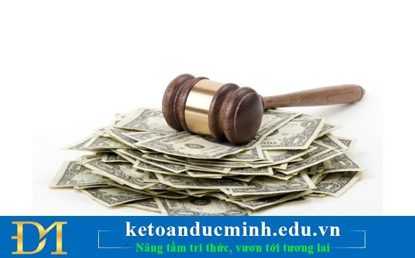 Mức phạt không quyết toán thuế thu nhập cá nhân