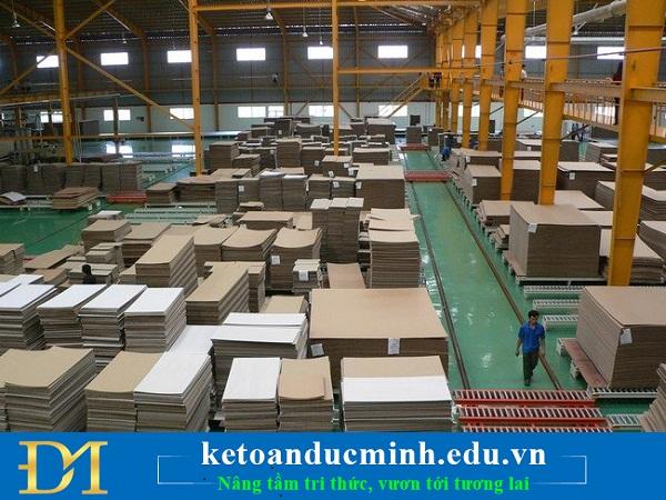 Phương pháp tính giá thành loại trừ sản phẩm phụ trong DN sản xuất gỗ