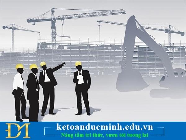 Xác định doanh thu trong kế toán xây dựng