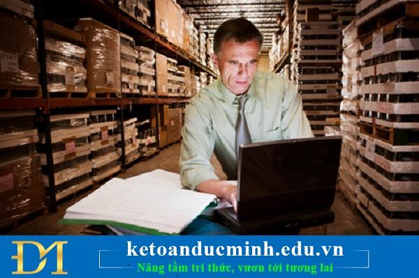 Các sai sót khi kế toán xuất hàng hóa, cung ứng dịch