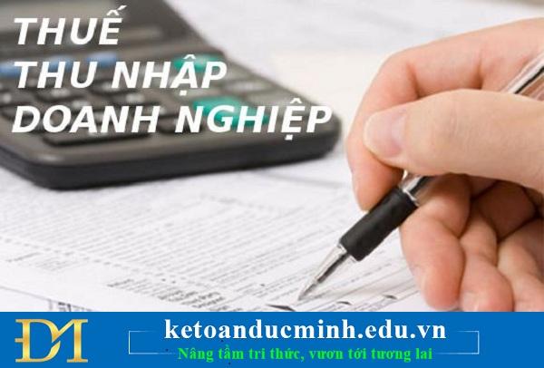 Những điểm mới về thuế GTGT, thuế TNDN, thuế TNCN trong tháng 5/2018 1