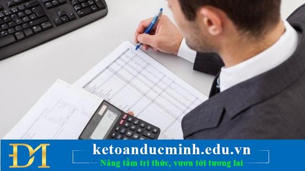 Các báo cáo phục vụ quản lý giá thành gia công