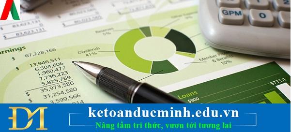Tổ chức trình bày, lập báo cáo kế toán