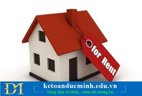 Chi tiền thuê tài sản của cá nhân không có đầy đủ hồ sơ, chứng từ