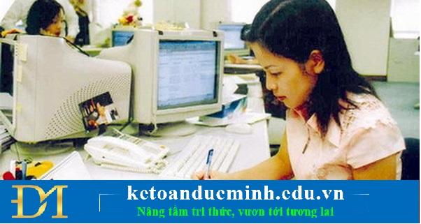Thu nhập xử lý các thông tin, số liệu kế toán theo đối tượng và nội dung công việc kế toán