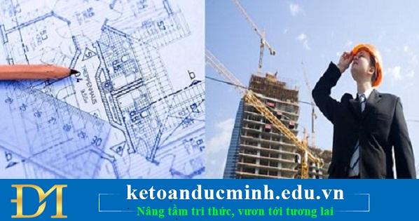 hạch toán các khoản thiệt hại trong quá trình thi công xây dựng
