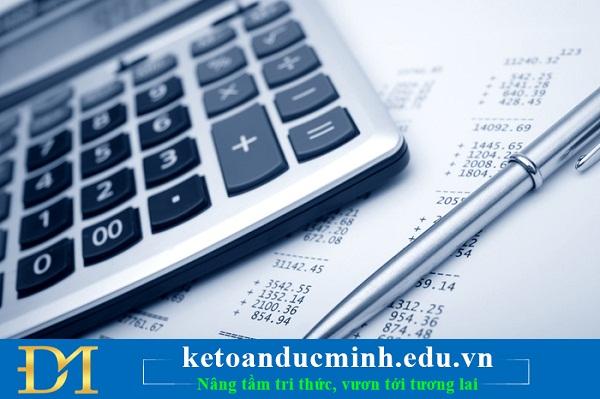 Hạch toán thuế TNCN từ tiền lãi cho vay