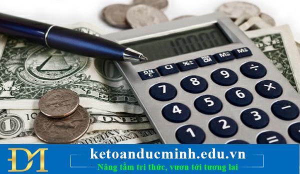 nguyên tắc kế toán vốn bằng tiền công ty thương mại