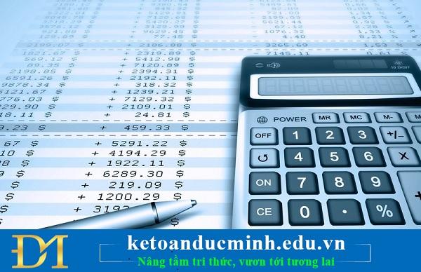 kiểm tra các tài khoản mục tài sản lưu động và tài sản dài hạn trên BCTC 1