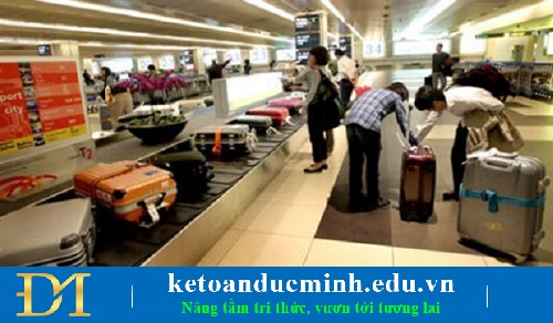 Miễn thuế đối hành lý của những người xuất cảnh, nhập cảnh