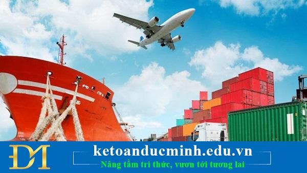 Nguyên tắc kế toán thuế xuất khẩu