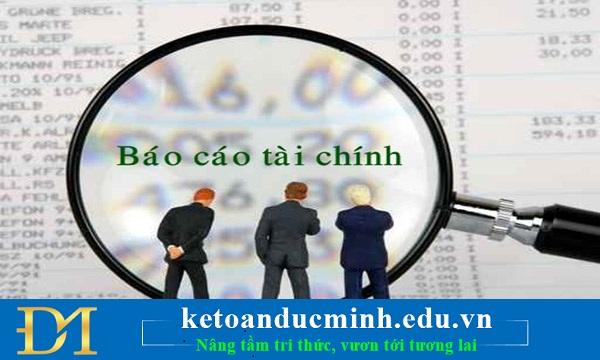 Quy định về kiểm toán báo cáo tài chính