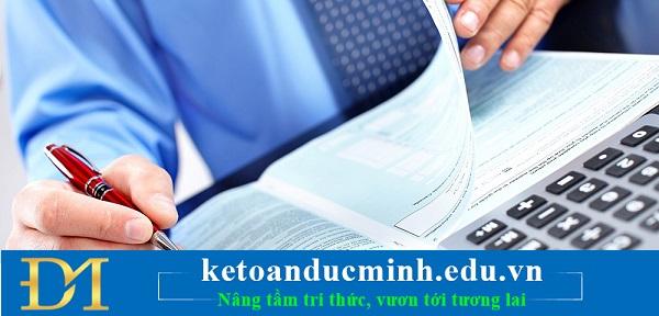 Tính và nộp thuế TNDN tạm tính => Hạch toán