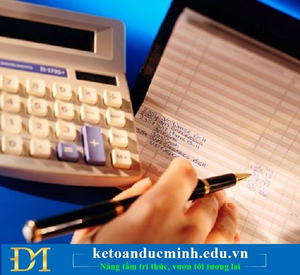 Kiểm tra kết quả việc kết chuyển thuế GTGT