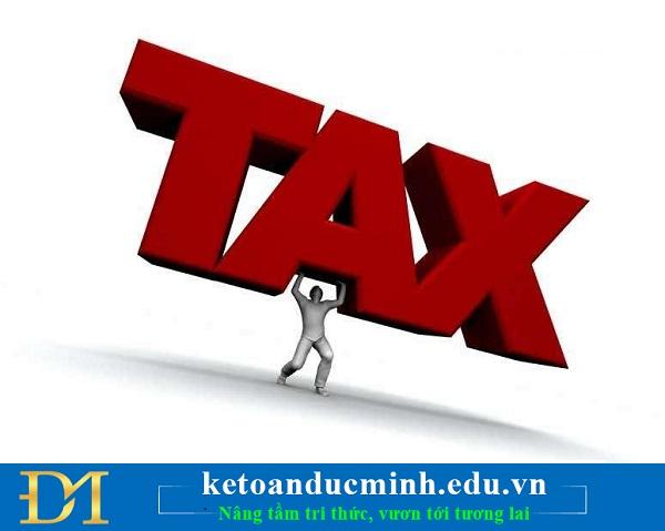 Quy định về hồ sơ thay đổi thông tin đăng ký thuế