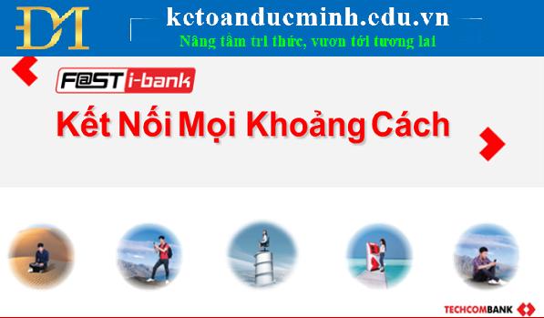 Thanh toán qua cổng thanh toán điện tử F@st MobiPay