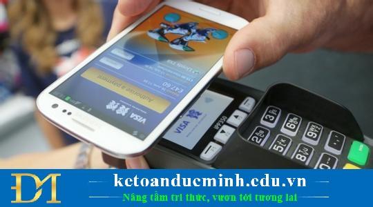 Thanh toán bằng ví điện tử