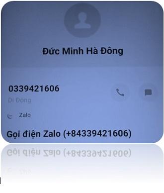 Số điện thoại văn phòng Đức Minh - CN Hà Đông