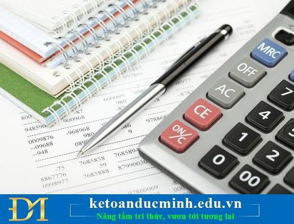định khoản kế toán