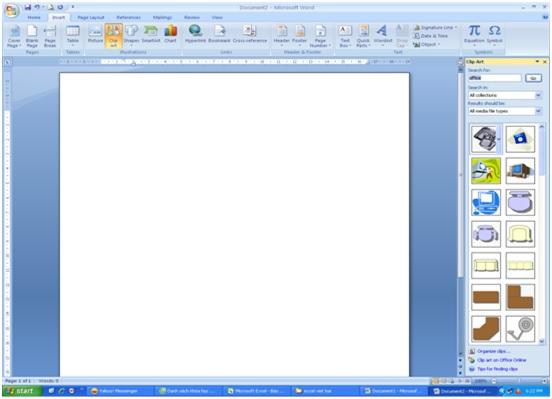 Cách chèn hình ảnh trong word