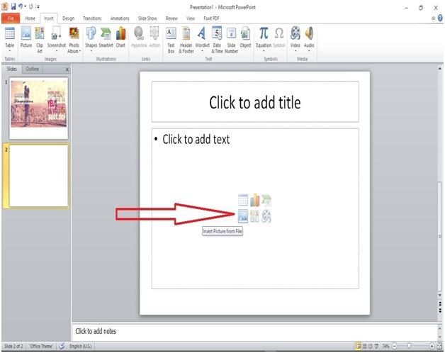Chèn ảnh và clip art trong powerpoint4