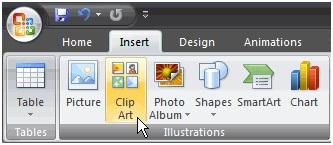Chèn ảnh và clip art trong powerpoint5