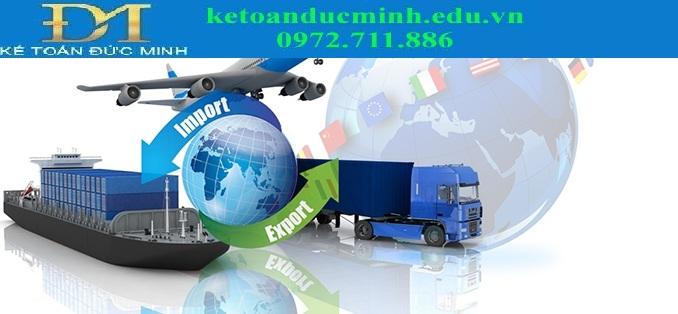 Doanh nghiệp kinh doanh xuất nhập khẩu - Kế toán Đức Minh