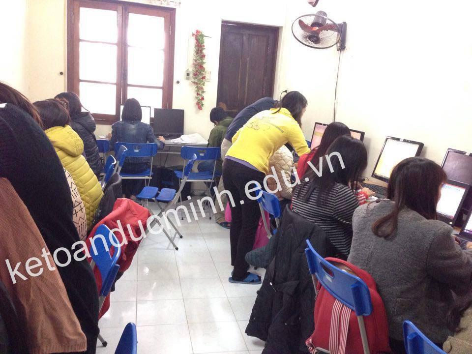 Nên học kế toán thực hành ở đâu tốt nhất tại Hà Nội
