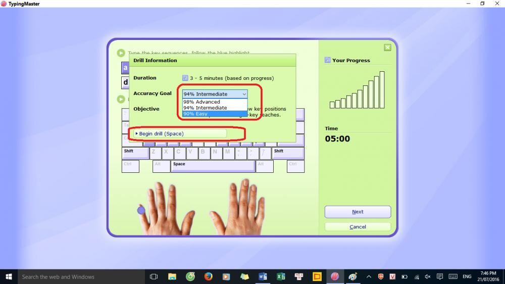 phần mềm gõ 10 ngón typingmaster pro bản portable không cần cài đặt + hướng dẫn sử dụng 6