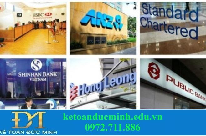 Một số ngân hàng nước ngoài tại Việt Nam