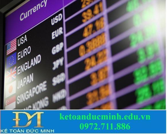 Phân loại tỷ giá hối đoái - các loại tỷ giá hối đoái 1