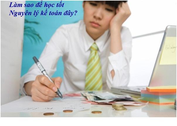 phương pháp học nguyên lý kế toán