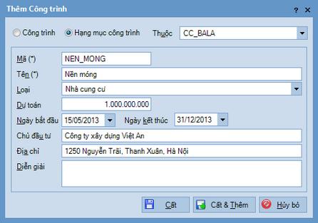 Quy trình nhập dữ liệu ban đầu trên phần mềm kế toán MISA SME.NET 2015 13