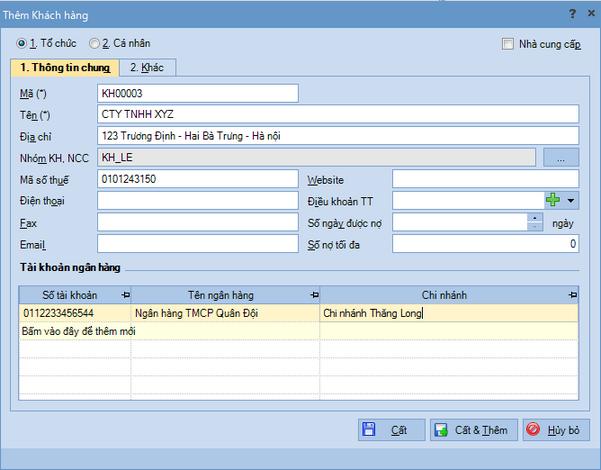 Quy trình nhập dữ liệu ban đầu trên phần mềm kế toán MISA SME.NET 2015 6