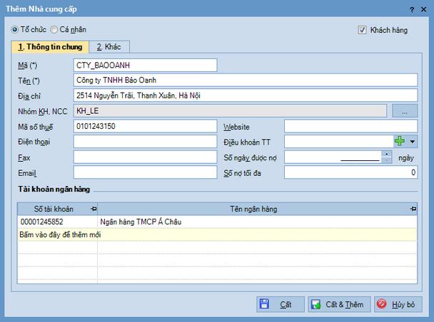 Quy trình nhập dữ liệu ban đầu trên phần mềm kế toán MISA SME.NET 2015 7