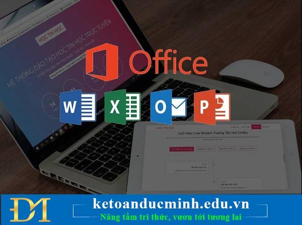 tin học văn phòng online