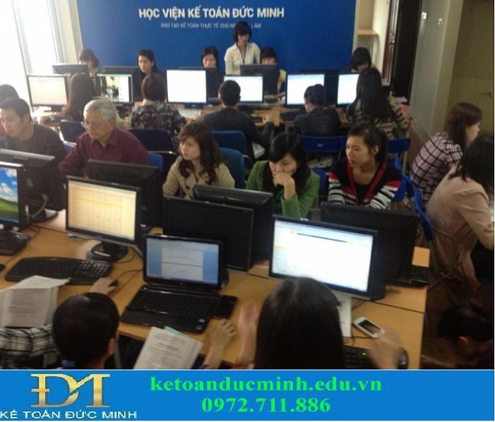 Trung tâm đào tạo kế toán UY TÍN tại Hà Nội - Kế toán Đức Minh - 1