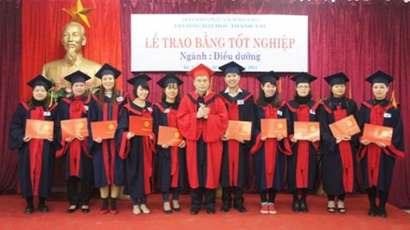 Tuyển sinh đại học thành tây hệ đào tạo chất lượng cao ngành kế toán 3